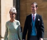 Pippa Middleton Shows Hint of Baby Bump at Royal Wedding