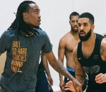Quavo Wins $10,000 From Basketball Bet With Drake
