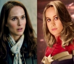 Natalie Portman Gets Witty in Response to Brie Larson Bragging About Lifting Thor's Hammer