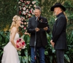 Trace Adkins Marries Victoria Pratt in Ceremony Officiated by Blake Shelton