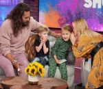 Watch: Kelly Clarkson's Children Grill Jason Momoa With These Adorable Questions