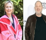 Hillary Clinton Insists She Didn't Know About Harvey Weinstein's Sexual Misconduct