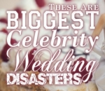 From Losing the Wedding Band and Burned Dress, These Are Biggest Celebrity Wedding Disasters