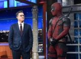 Video: Deadpool Crashes 'Late Show' to Take Over Stephen Colbert's Monologue