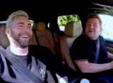 Adam Levine and James Corden Pulled Over by Cops During 'Carpool Karaoke'