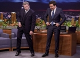 Video: John Travolta Teaches Jimmy Fallon His Iconic 'Grease' Dance