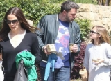 Jennifer Garner and Ben Affleck Treat Their Kids to Broadway Outing