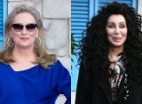 Meryl Streep and Cher Kiss on the Lips at 'Mamma Mia! Here We Go Again' Premiere