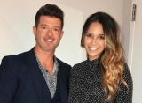 Report: Robin Thicke's Girlfriend April Geary Already Pregnant Again 5 Months After Giving Birth