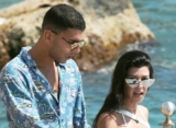 Kourtney Kardashian's Boyfriend Younes Bendjima Happy With Her Less Sexy Pic