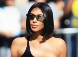 Kim Kardashian Accidentally Flashes Crotch Due to Wardrobe Malfunction