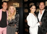 Take a Look at Peta Murgatroyd, Maks, Val Chmerkovskiy and Jenna Johnson PDA-Packed Red Carpet Pics