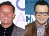 Mark Burnett 'Choked' Tom Arnold at Pre-Emmys Party