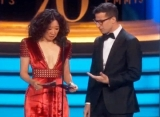 Emmys 2018: 'Overwhelmed' Sandra Oh Almost Repeats Oscar's Best Picture Mix-Up