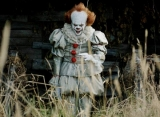 Pennywise Scares Away Bill Hader in 'It: Chapter 2' Set Photos