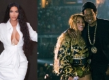 Kim Kardashian Attends Beyonce and Jay Z's Los Angeles Show After Ending Feud