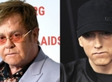 Elton John Compliments Eminem for Homophobic Slur Apology