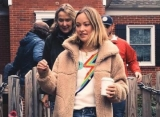 Olivia Wilde Goes Canvassing With Mother for Virginia Congress Campaign