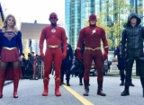 First Look at John Wesley Shipp's '90s The Flash Joining Arrowverse Superheroes for 'Elseworlds'