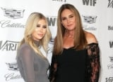 Caitlyn Jenner and Sophia Hutchins Enjoying Vodka After Evacuating From California Wildfire