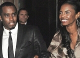 P. Diddy Looks Dispirited in First Outing Since Kim Porter's Death