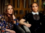 Watch Jennifer Lopez and Leah Remini Fight Over Dining Bills