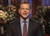 Watch: Matt Damon Salutes Late Father in 'Saturday Night Live' Opening