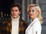 Pixie Lott and Fiance Oliver Chesire Coupled Up at Paris Fashion Week for Schiaparelli