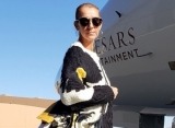 Celine Dion Nearly Suffers Wardrobe Mishaps in Daring Dress at Alexandre Vauthier Show