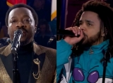NBA All-Star Game 2019: Anthony Hamilton Puts Spin to National Anthem, J. Cole Slays Halftime Show
