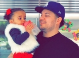 Rob Kardashian's Daughter Puts Together Early Party for His 32nd Birthday