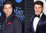John Stamos Jokingly Blames Nick Jonas for Ripped Pants Mid-Concert
