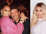 Robin Thicke's Fiancee Gives Sign of Approval to Khloe Kardashian Romance Rumors