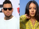 Here's Why Chris Brown's Friends Are Convinced His GF Ammika Harris Is Pregnant