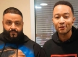DJ Khaled and John Legend Remember Nipsey Hussle in 'SNL' Performance