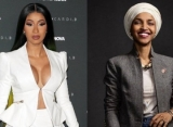 Cardi B Sends Foul-Mouthed Message to Ilhan Omar After Trump Supporters Chant 'Send Her Back'
