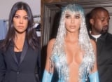 Kourtney Kardashian Blasts Kim's Outrageous Latex Dress: Are You Nicki Minaj?