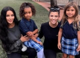 Kim and Kourtney Kardashian Blasted After Saying Their Daughters Scratch and Try to Bite Nannies