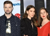 Justin Timberlake Hints at HAIM Collaboration After Late Night Session