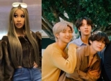 Cardi B Reacts to BTS' Cover of Her Single 'Finesse'