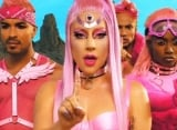 Lady GaGa Is a Pink Alien in 'Stupid Love' Music Video