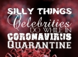 Silly Things Celebrities Do While in Coronavirus Quarantine