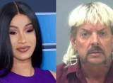 Cardi B Wants to Feed Joe Exotic to Lions Over N-Word Rant Video