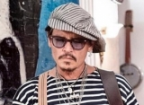 Johnny Depp Shows Off Wine Bottle Painting He Completed After 14 Years