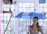 Ariana Grande's Boyfriend Helps Create Downpour in New 'Rain On Me' Promo