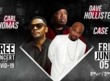 Carl Thomas, Case, Dave Hollister Take Digital Stage for Black Music Month