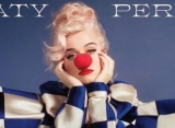 Katy Perry Looks Downcast as Clown on Cover of Her New Album
