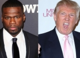 50 Cent Pulls a Donald Trump to Respond to Video of Him Throwing Chair and Table at Man