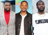 50 Cent Mocks Will Smith, Meek Mill Praises Jada Pinkett After August Alsina Affair Confession