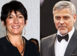 Report: Ghislaine Maxwell Gets 'Giddy as a Schoolgirl' After Giving George Clooney Blowjob